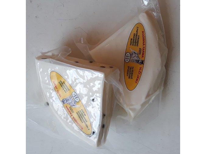VLČÍ Jámy - Poloměkký nalévaný zrající sýr cca 210g