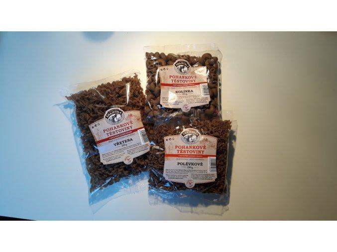 Pohankové těstoviny 250 g - různé druhy