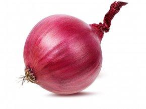 červená cibule