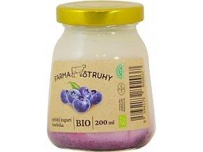 Bio selský jogurt borůvka