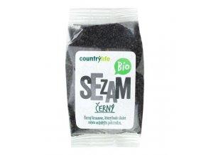 Sezam černý neloupaný BIO 100 g