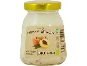 Bio selský jogurt meruňka
