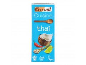 Kokosová alternativa smetany 200 ml BIO ECOMIL Thai