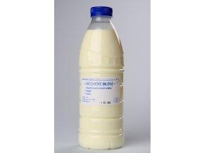 mléko plast
