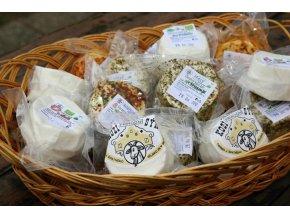 Kozí sýr přírodní nebo kořeněný BIO cca 110 g