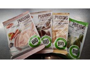 Pudink bezlepkový Bio 40g - různé příchutě