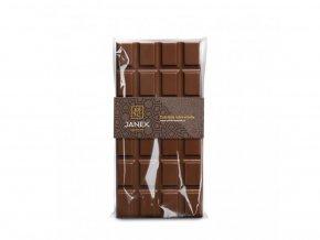 Mléčná čokoláda Janek - různé druhy