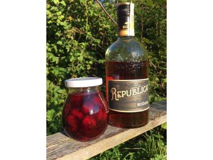 Višňový extra džem s rumem Republika