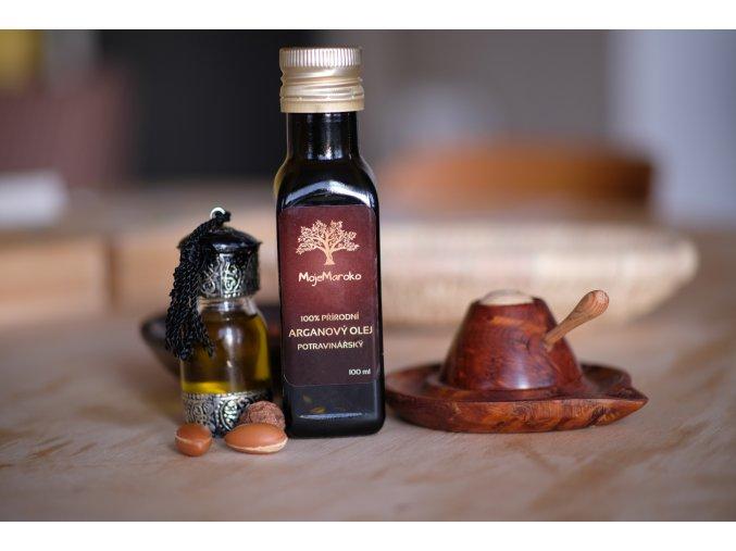 100% přírodní arganový olej potravinářský 250 ml