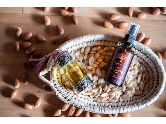 100% přírodní arganový olej kosmetický 50 ml