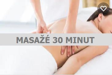 Masáže 30 minut