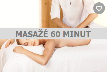 Masáže 60 minut