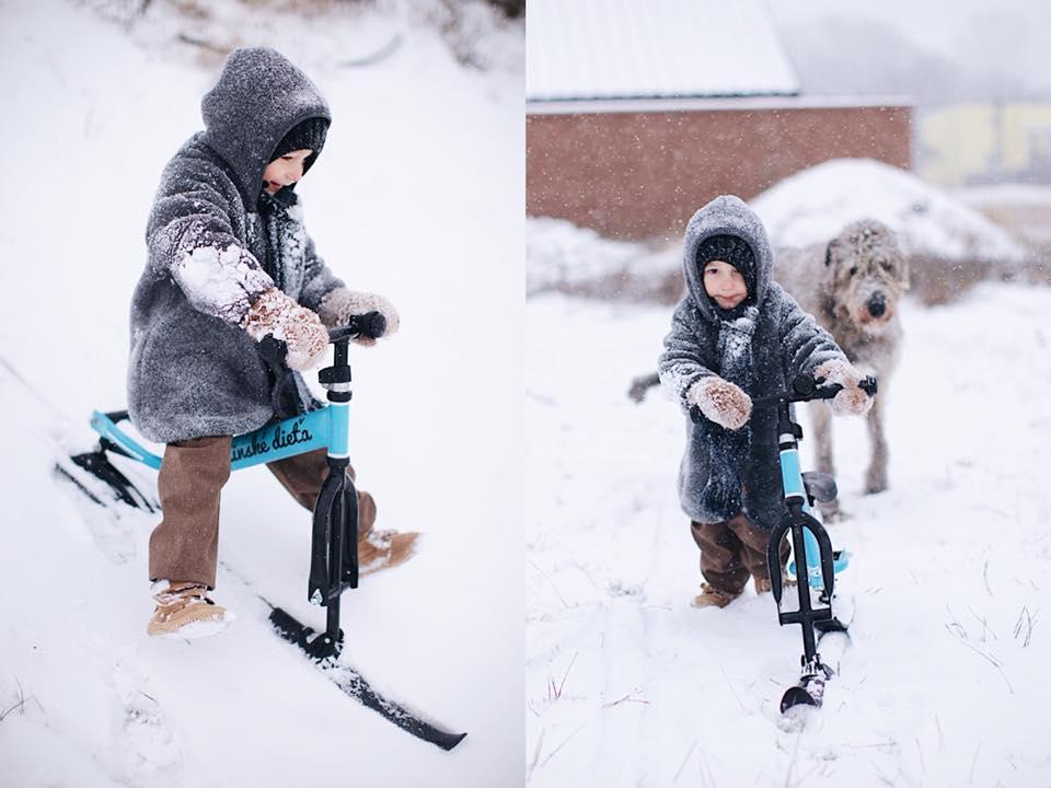 V zime zábava nekončí - prezujte odrážadlo na lyže