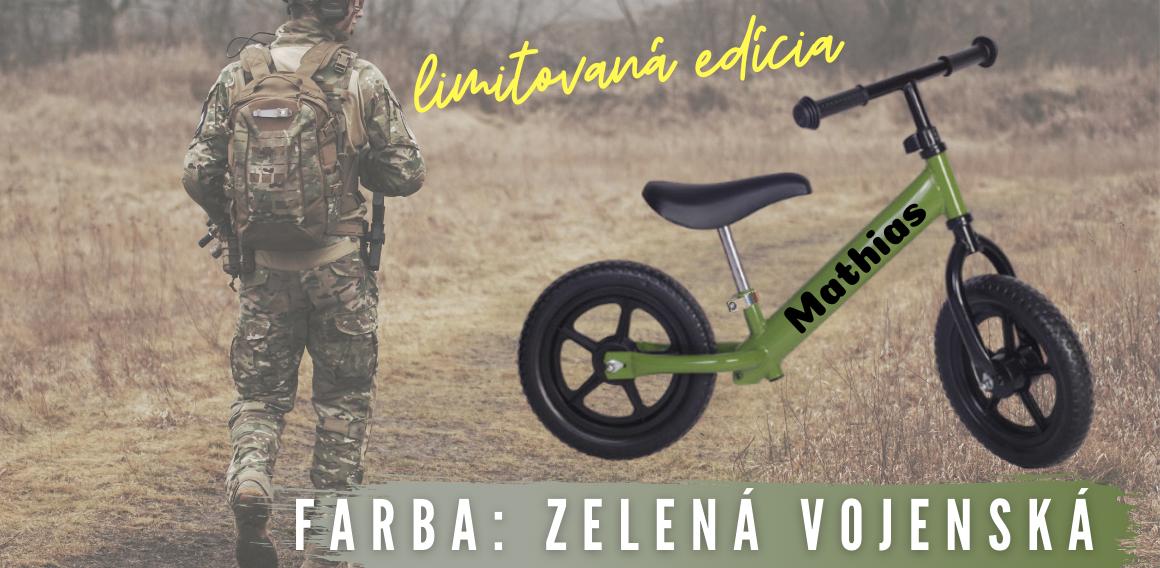 vojenska zelena