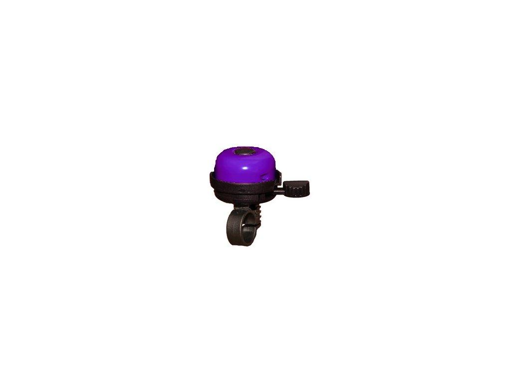 ca97234e8 zvonček na odrážadlo - fialový - Moje odrážadlo