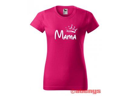 dámske tričko s menom a korunkou BASIC