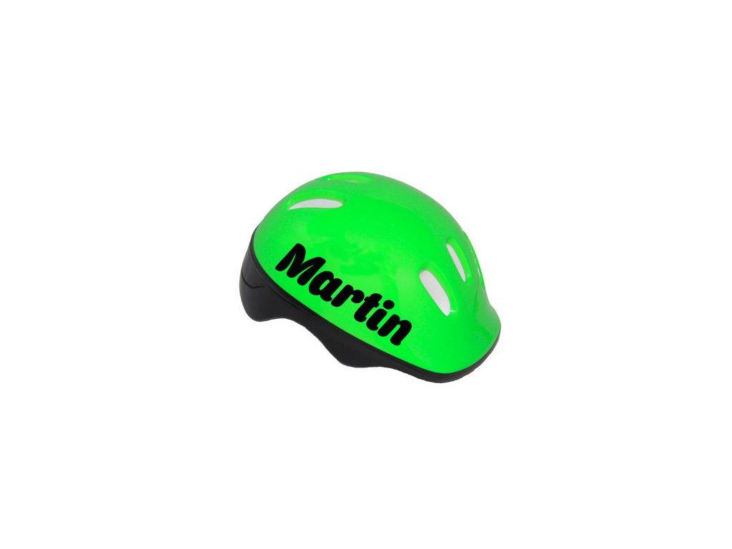 detska prilba zelena s menom 48 51 cm 89131.thumb 400x450