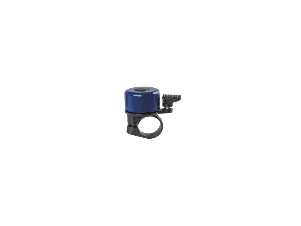 zvonek na odrážedlo - metal malý modrý