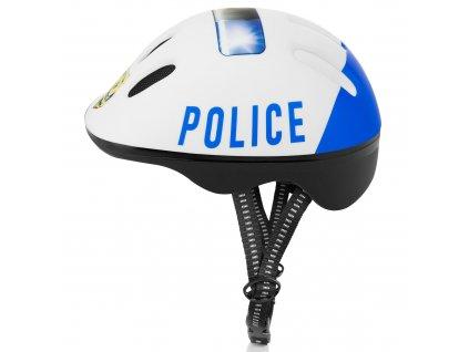 Přilba dětská SPOKEY 44 - 48cm - POLICE