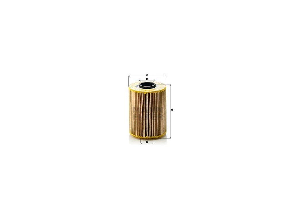 Olejový filtr MANN-FILTER HU 926/3 x