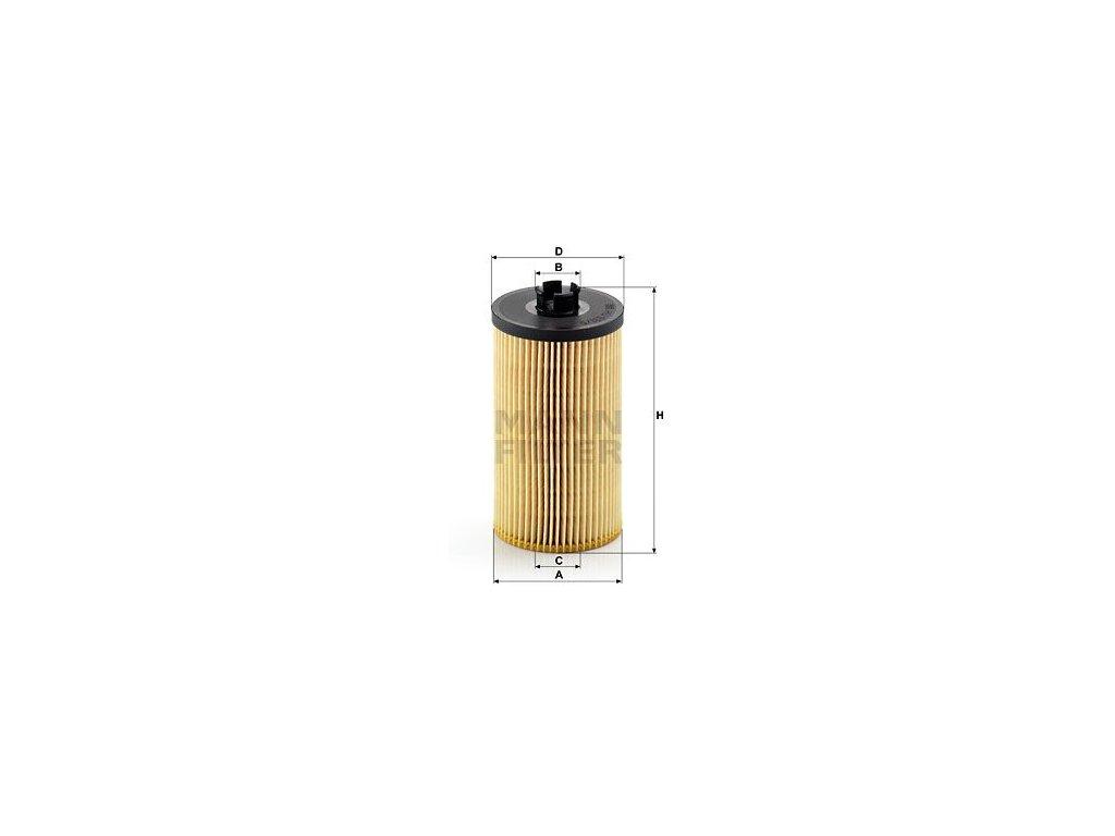 Olejový filtr MANN-FILTER HU 931/5 x