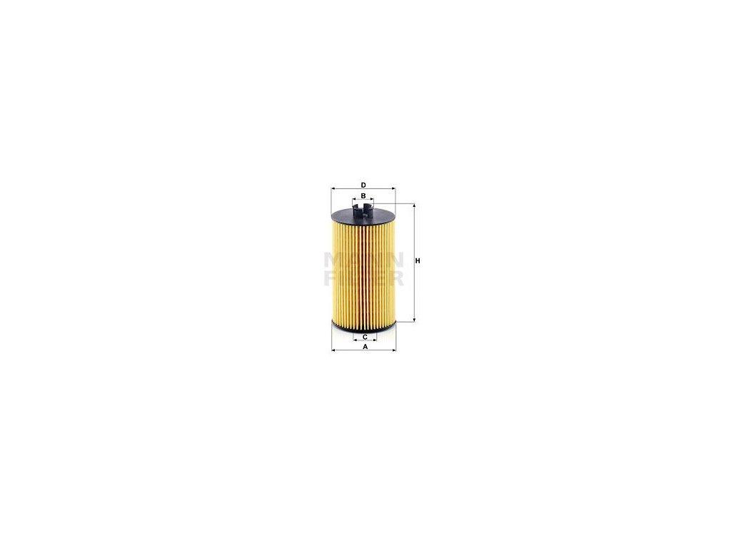 Olejový filtr MANN-FILTER HU 931/6 x