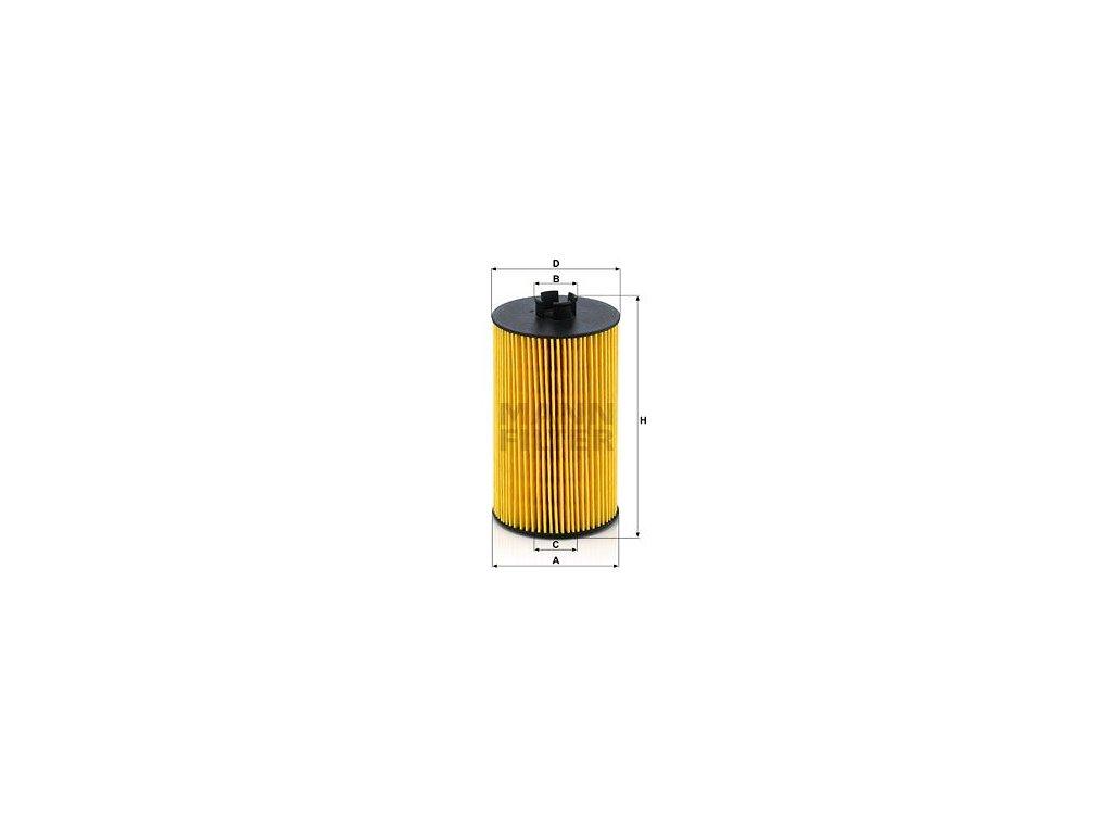 Olejový filtr MANN-FILTER HU 931/7 x