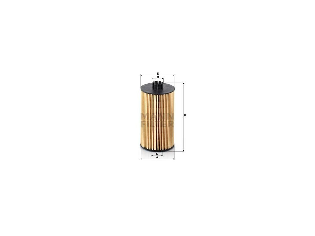 Olejový filtr MANN-FILTER HU 931 x