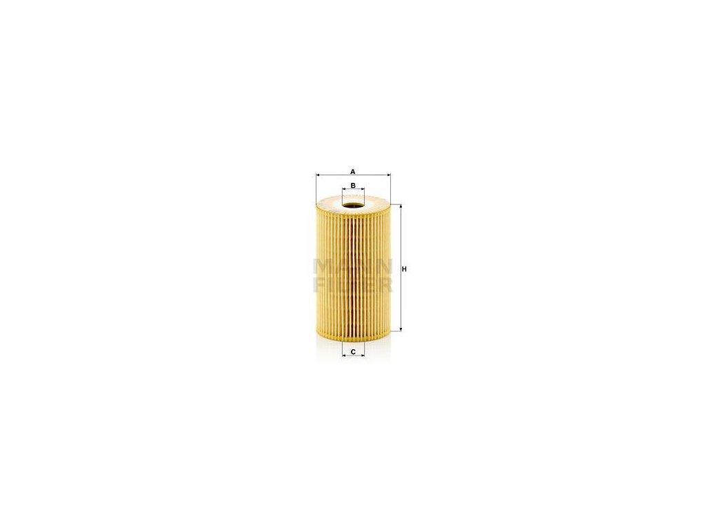 Olejový filtr MANN-FILTER HU 932/4 n