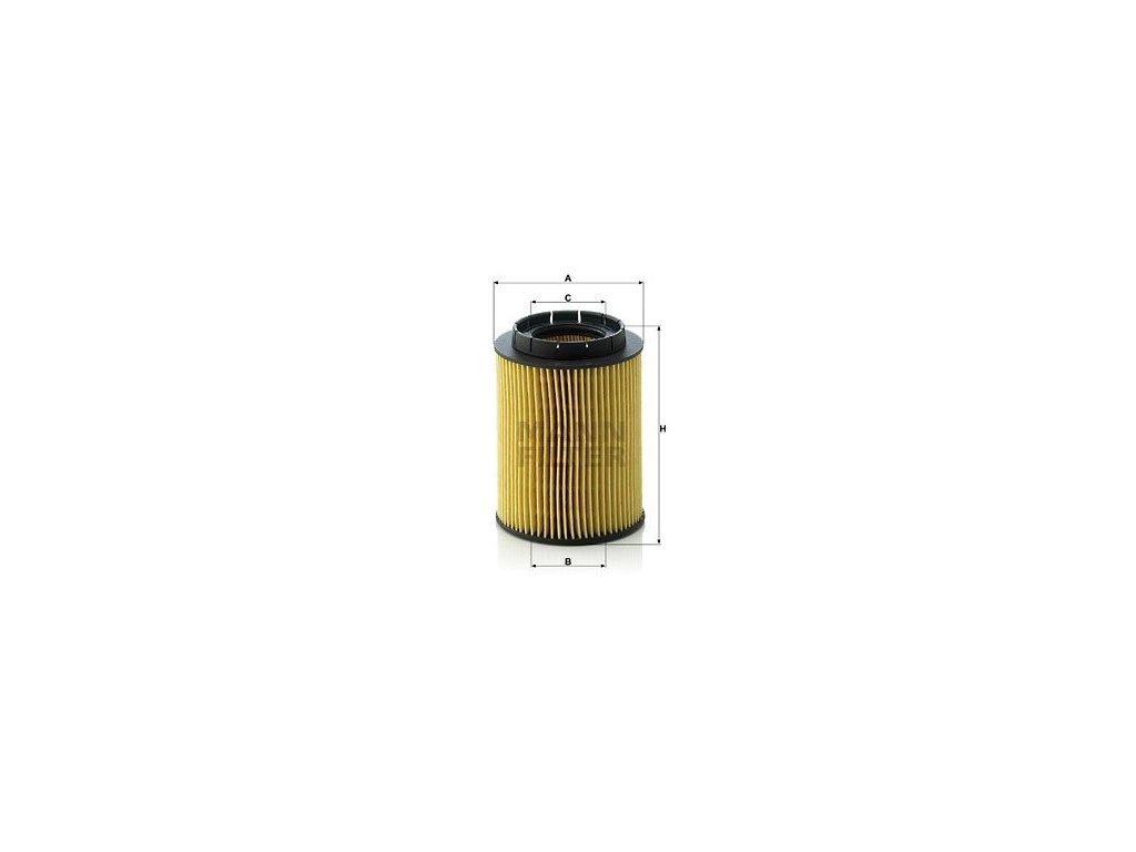 Olejový filtr MANN-FILTER HU 932/6 n