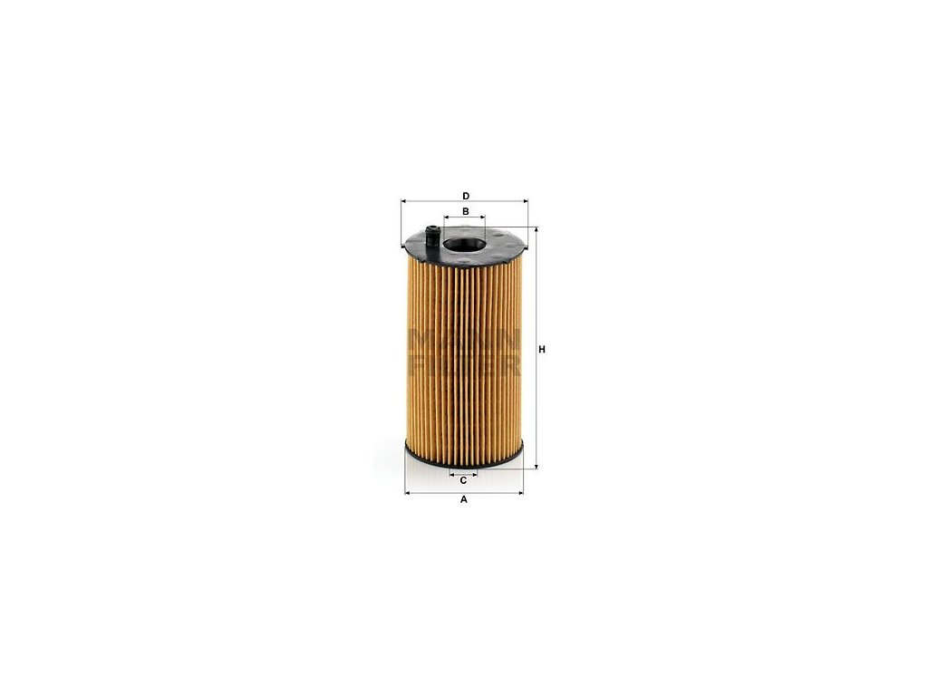 Olejový filtr MANN-FILTER HU 934/1 x