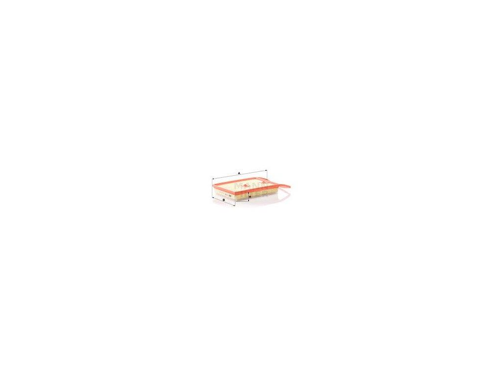 Vzduchový filtr MANN-FILTER C 35 011