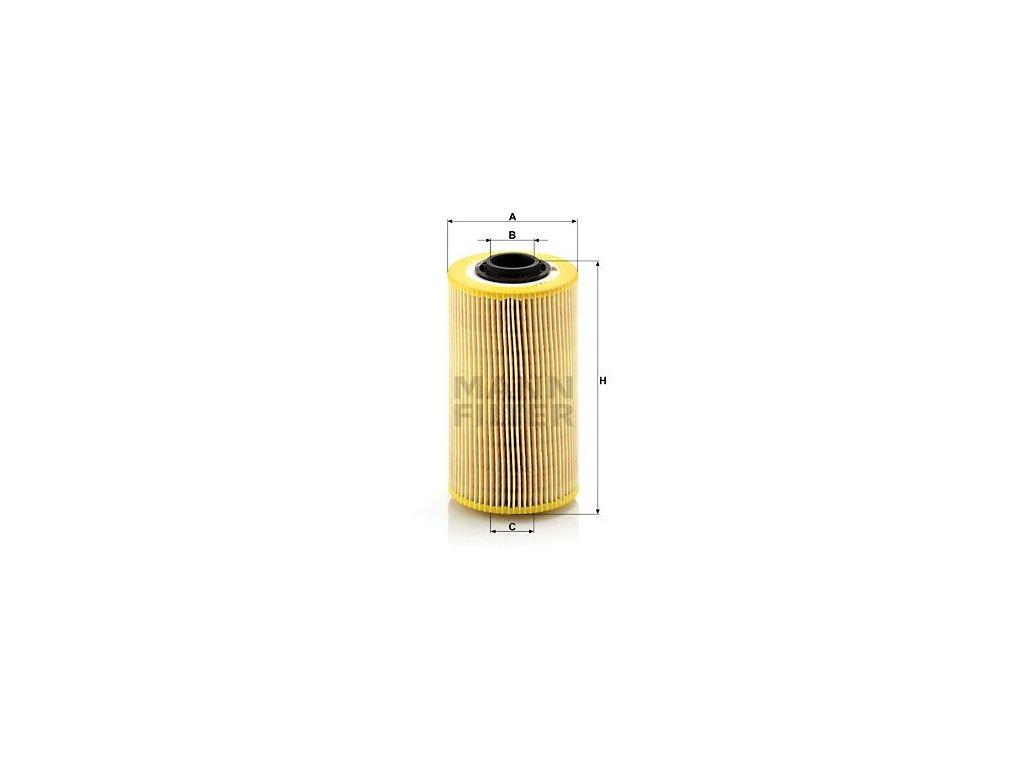 Olejový filtr MANN-FILTER HU 938/1 x