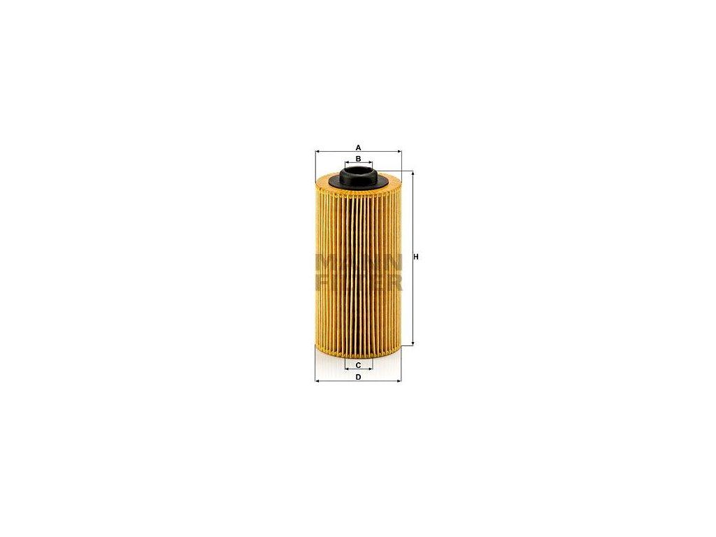 Olejový filtr MANN-FILTER HU 938/4 x