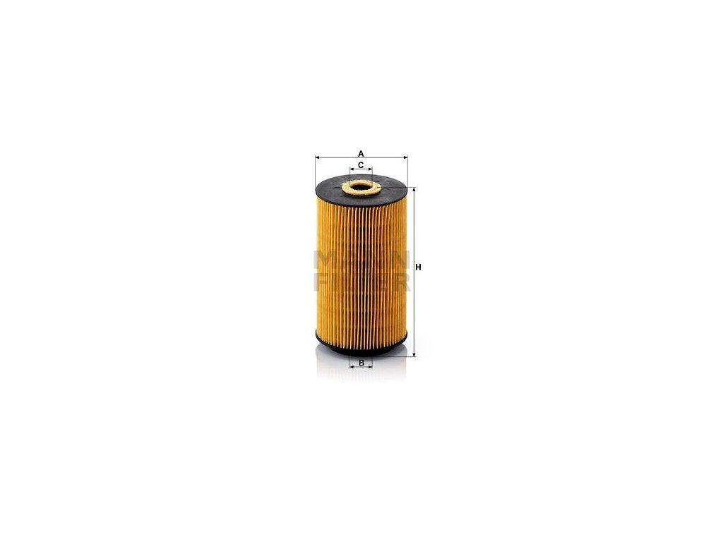Olejový filtr MANN-FILTER HU 942/1 x