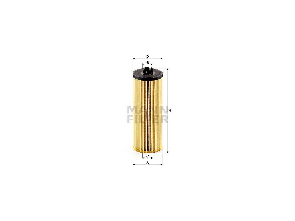 Olejový filtr MANN-FILTER HU 945/2 x