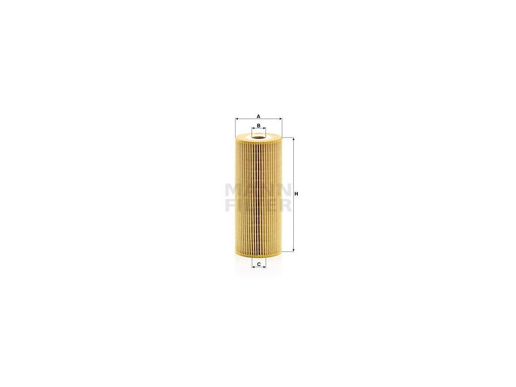 Olejový filtr MANN-FILTER HU 947/1 n