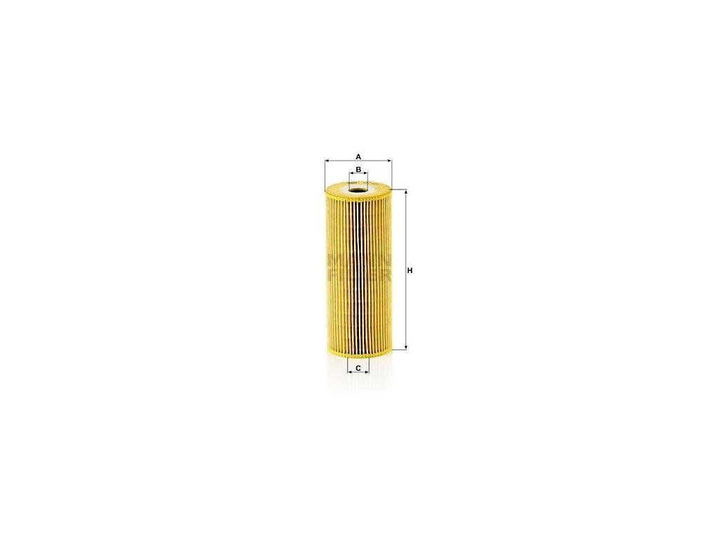 Olejový filtr MANN-FILTER HU 947/1 x
