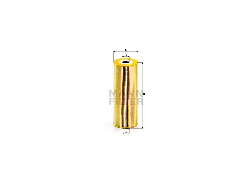 Olejový filtr MANN-FILTER HU 947/1 z-2