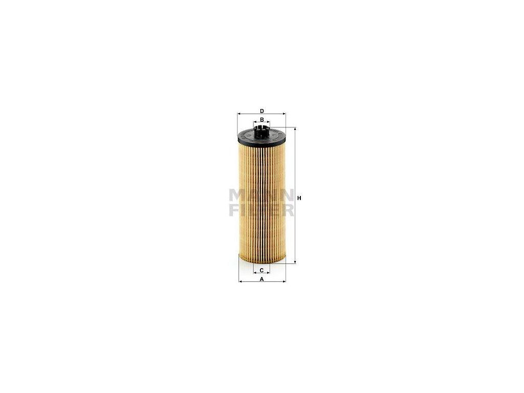 Olejový filtr MANN-FILTER HU 947/2 x