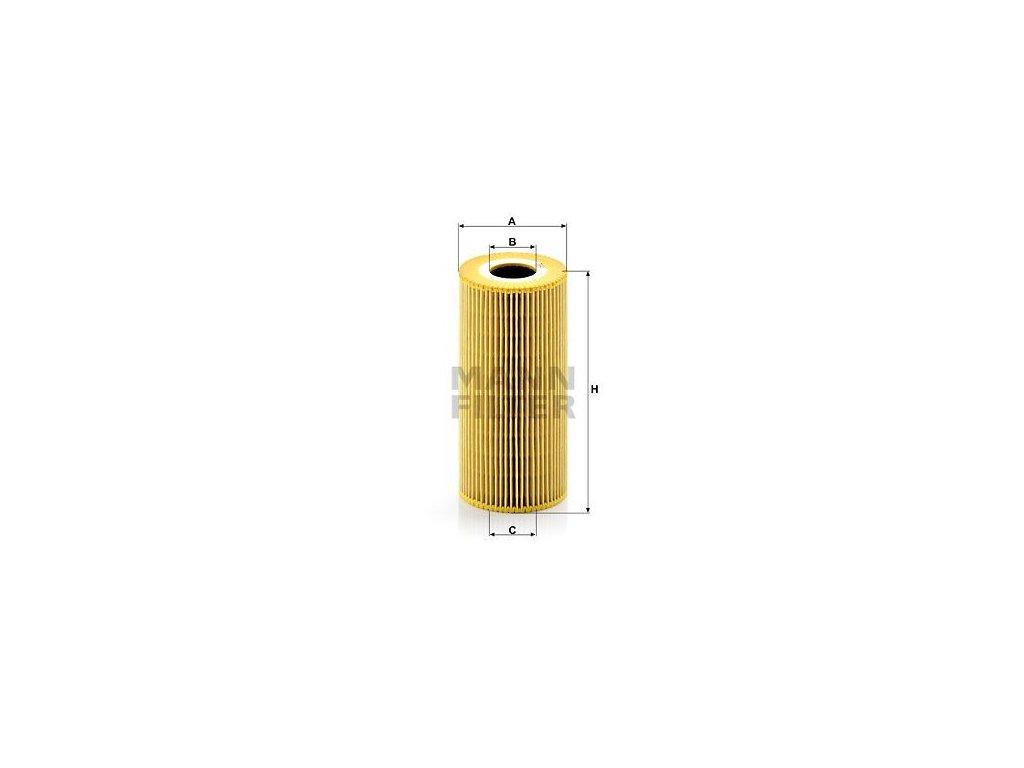 Olejový filtr MANN-FILTER HU 951 x