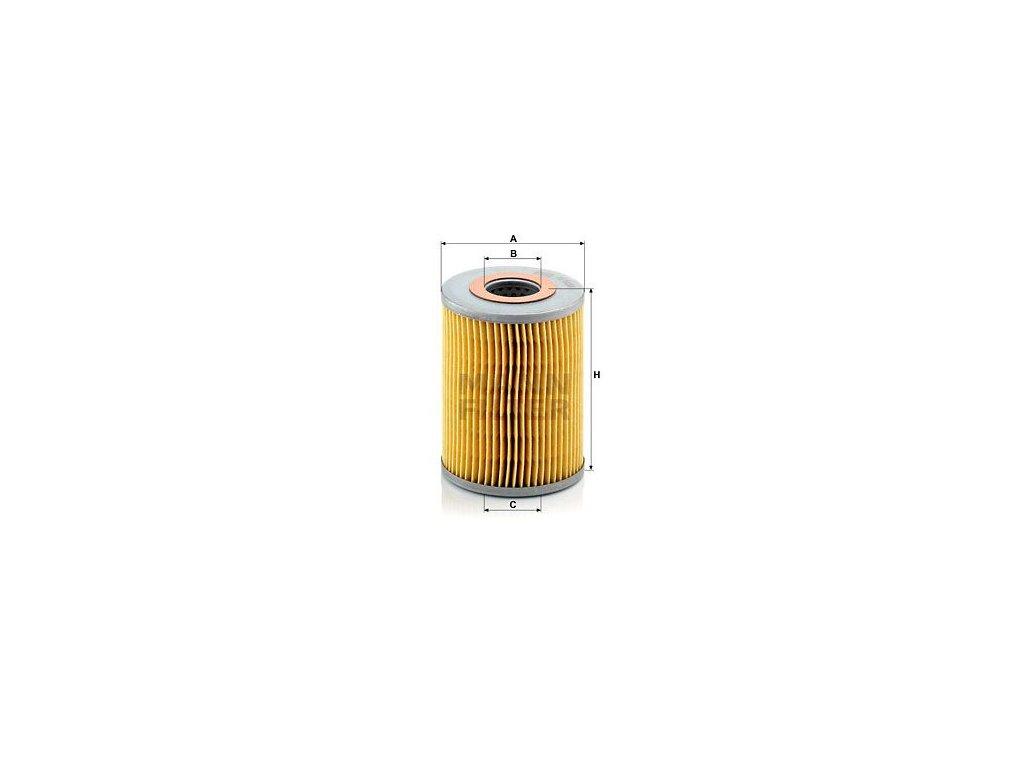 Olejový filtr MANN-FILTER H 1038
