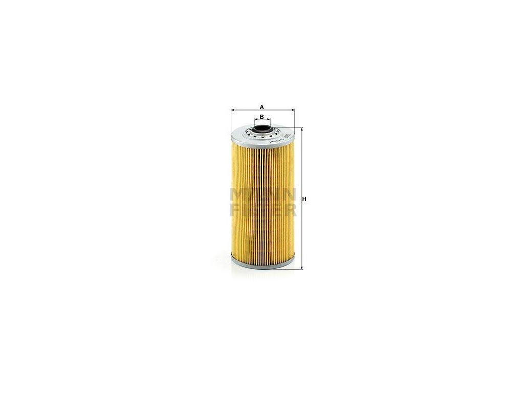 Olejový filtr MANN-FILTER H 1059/1 x