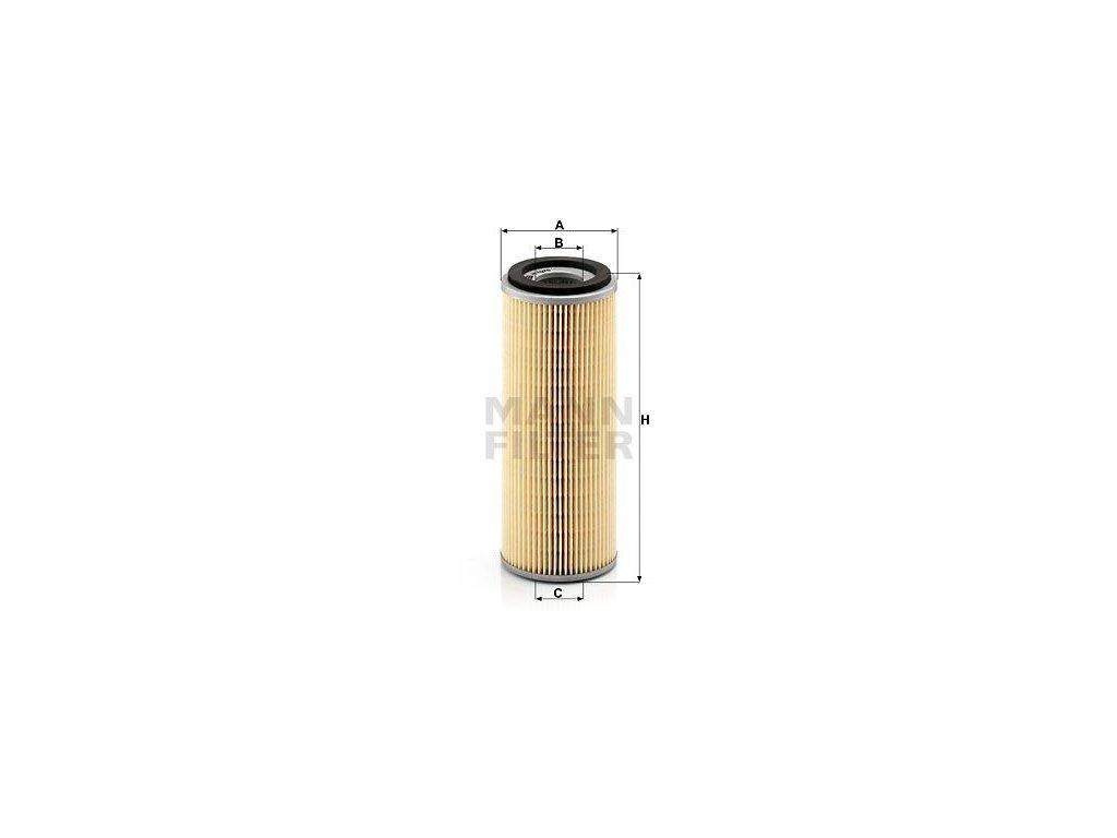 Olejový filtr MANN-FILTER H 1076 x