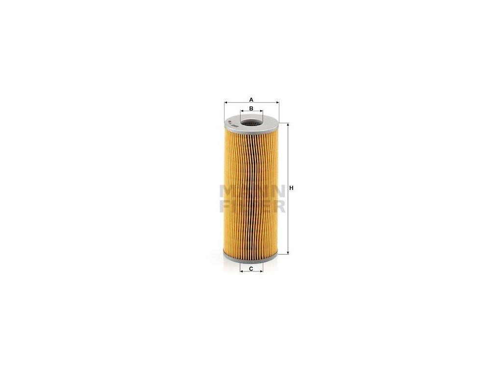 Olejový filtr MANN-FILTER H 1081