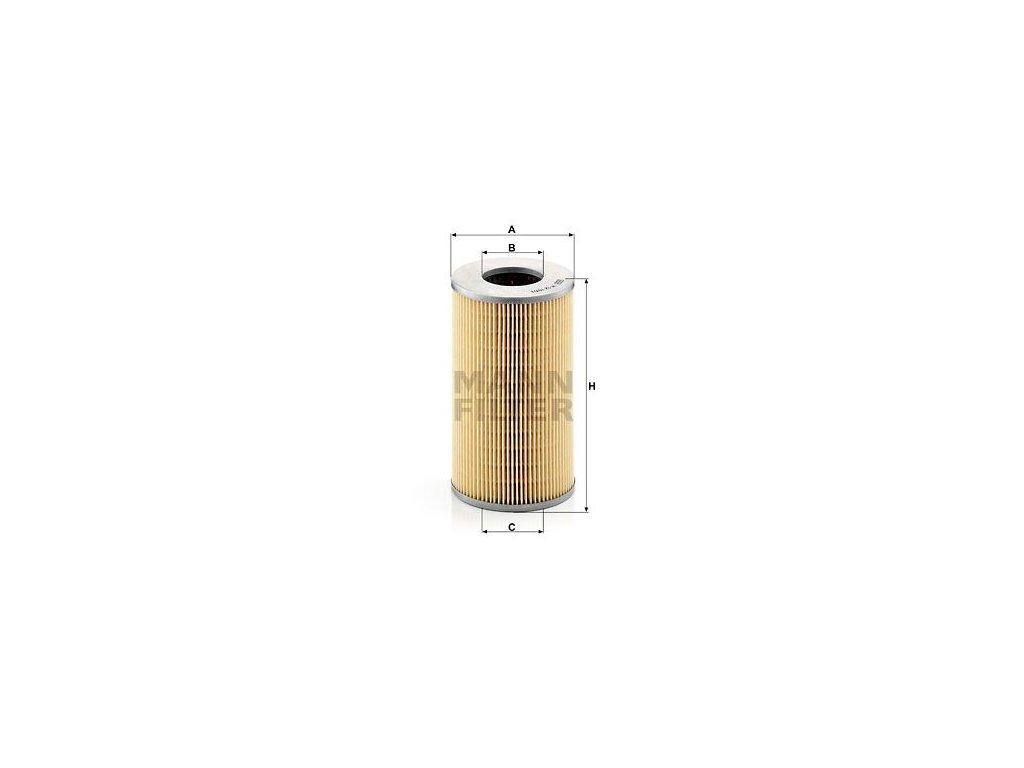 Olejový filtr MANN-FILTER H 12 107/1
