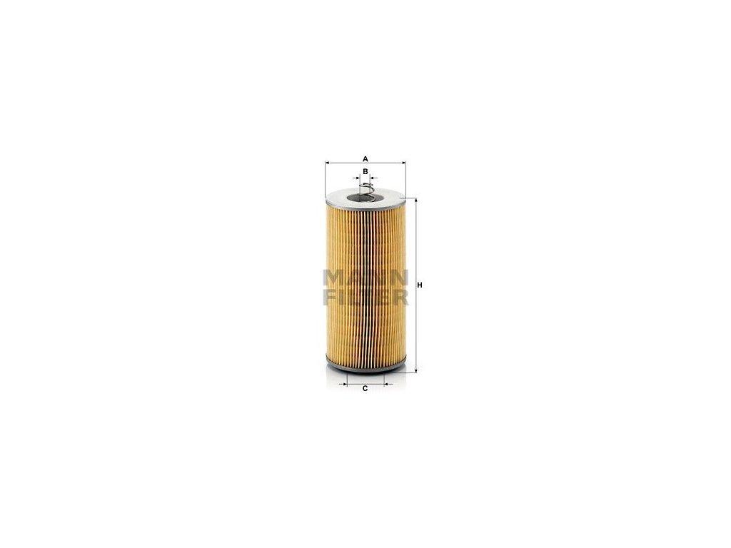 Olejový filtr MANN-FILTER H 12 110/2 x