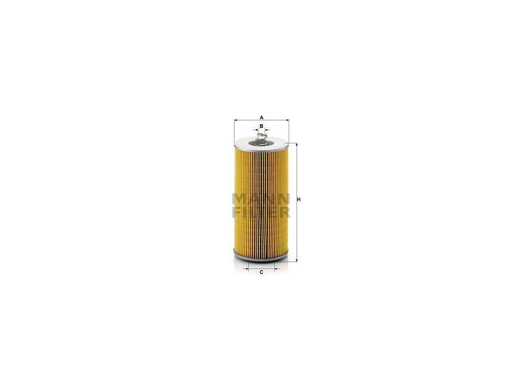 Olejový filtr MANN-FILTER H 12 110/3