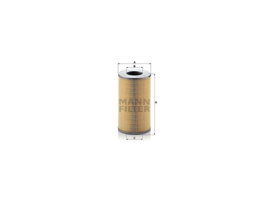Olejový filtr MANN-FILTER H 1282 x