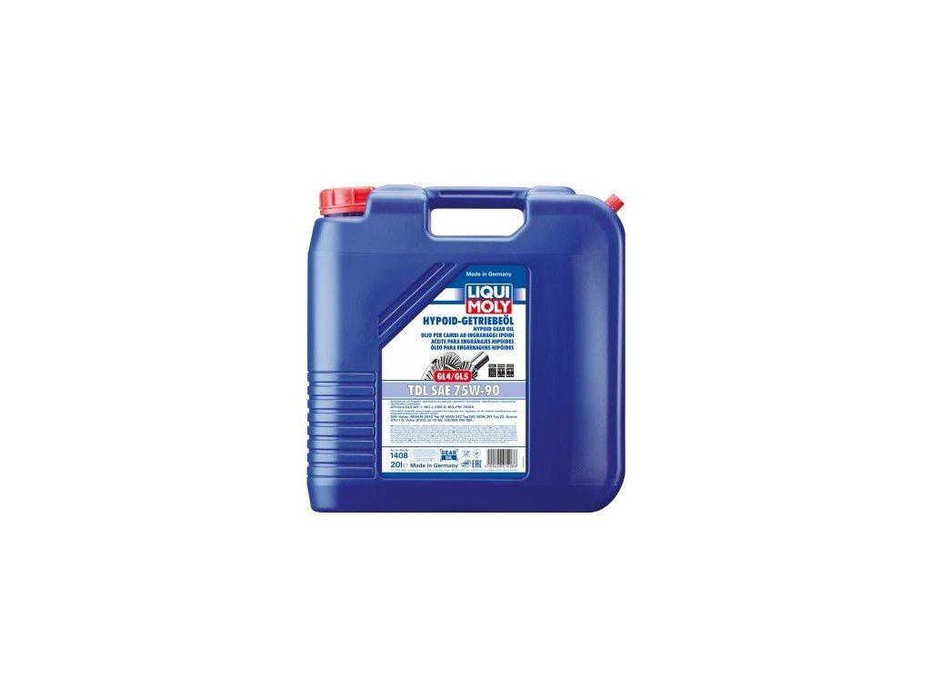 Olej do prevodovky LIQUI MOLY Hypoid-Getriebeöl (GL4/5) TDL SAE 75W-90 1408